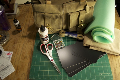 How to make a pouch, purse or wallet. Diy Camera Bag - Step 1