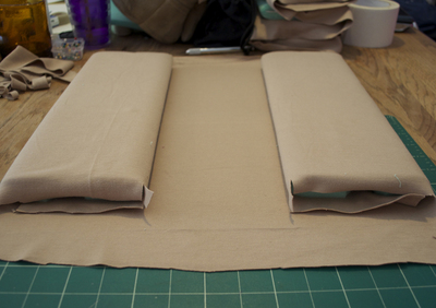How to make a pouch, purse or wallet. Diy Camera Bag - Step 4