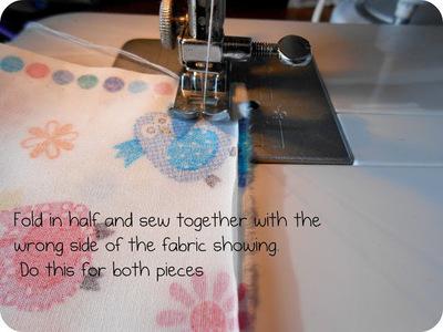 How to make a hair bow. Fabric Hair Bow Tutorial - Step 2