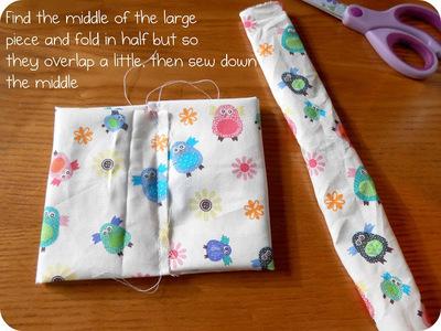 How to make a hair bow. Fabric Hair Bow Tutorial - Step 4