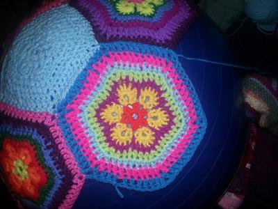 How to make a plushie toy. Amazeballs   Crochet Yoga Balls - Step 2