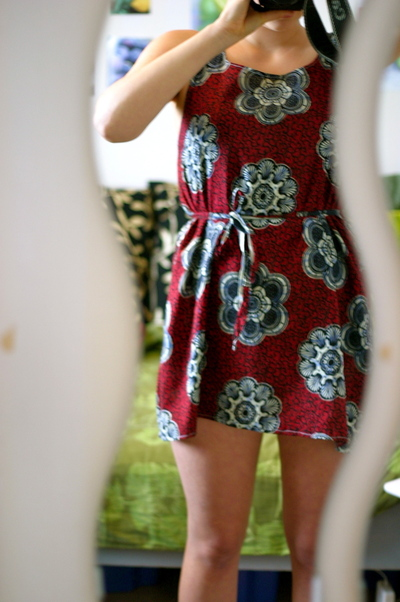 How to alter a revamped dress. New Dress With Help Of Old Dress - Step 5