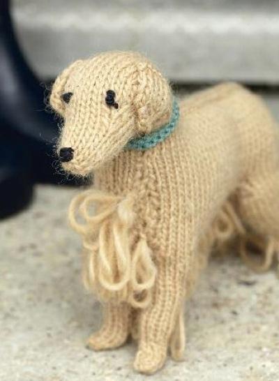 How to make a dog plushie. Golden Retriever - Step 12