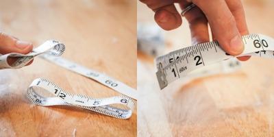 How to recycle a tape measure headband. Diy: Tape Measure Headband  - Step 5