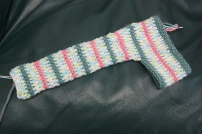 How to make a rattles. Crochet Owl Rattle - Step 3