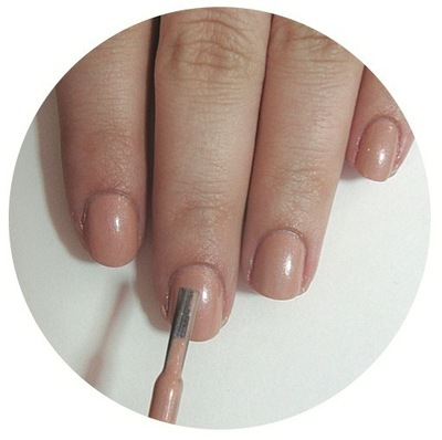 How to paint patterned nail art. Vintage Rose Nails - Step 1