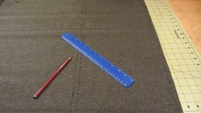 How to sew a bow clutch. Bow Clutch - Step 1