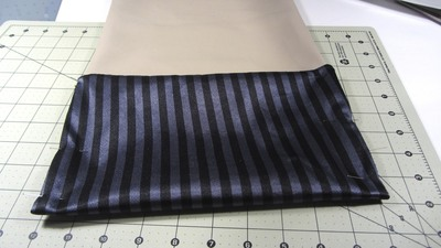 How to sew a bow clutch. Bow Clutch - Step 8