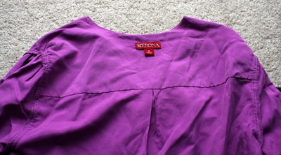 How to make a revamped top. Diy Cross Back Shirt - Step 1