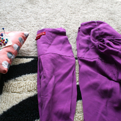 How to make a revamped top. Diy Cross Back Shirt - Step 3