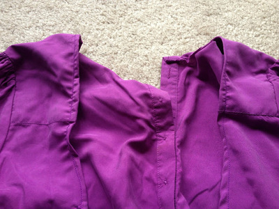 How to make a revamped top. Diy Cross Back Shirt - Step 6