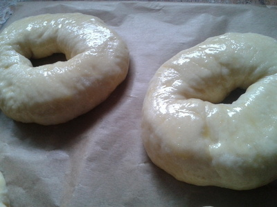 How to bake a bagel. Bagels - Step 7