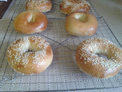 How to bake a bagel. Bagels - Step 8