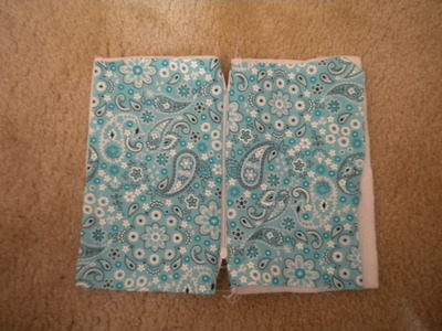 How to make a pouch, purse or wallet. Vintage Pattern Wristlet - Step 7