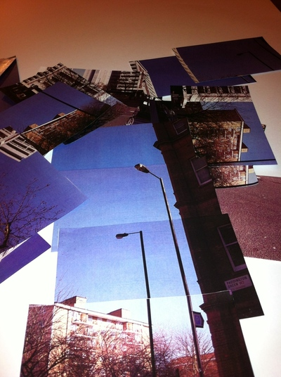 How to make a collages. Doing A Hockney - Step 6