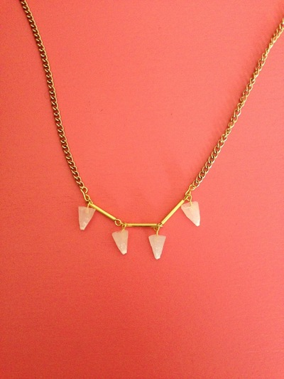 How to make a spike necklace. Diy Resin Spikes For Necklace - Step 11