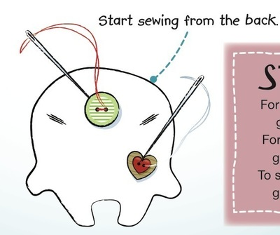 How to make a food plushie. Bod Plushie - Step 3