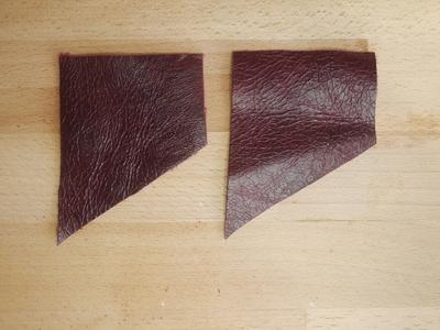 How to make a tassel charm. Leather Tassel Handbag Charm - Step 3