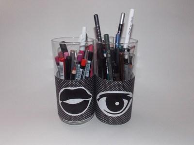 How to make a pot. Eyeliner & Lipliner Pencil Holders - Step 1