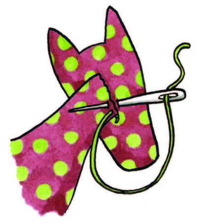 How to make a horse / pony plushie. Clip Clop Pony - Step 5