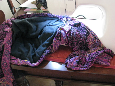 How to make a t-shirt scarf. Shirt To Purse! - Step 5