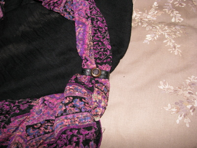 How to make a t-shirt scarf. Shirt To Purse! - Step 8