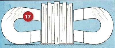 How to make a book end. Magnetic Bookends - Step 17