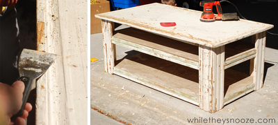 How to make a painted table. Diy Painted Map Table - Step 1