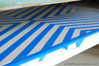 How to make a painted table. Diy Painted Map Table - Step 7
