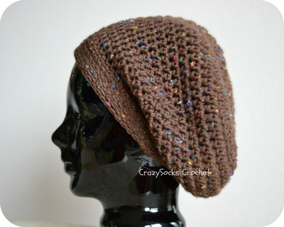 How to make a slouchy beanie. Super Slouch Hat - Step 1