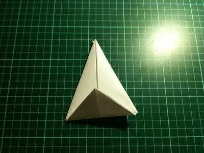 How to fold an origami crane. Origami Crane - Step 8