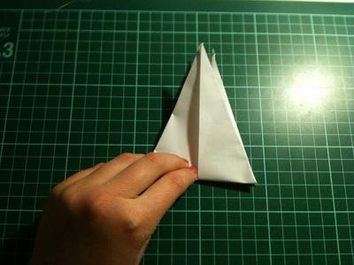 How to fold an origami crane. Origami Crane - Step 15