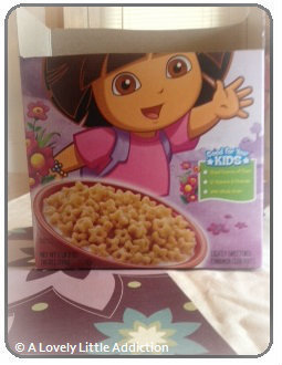 How to make a box. Recycled Cereal Box - Step 2