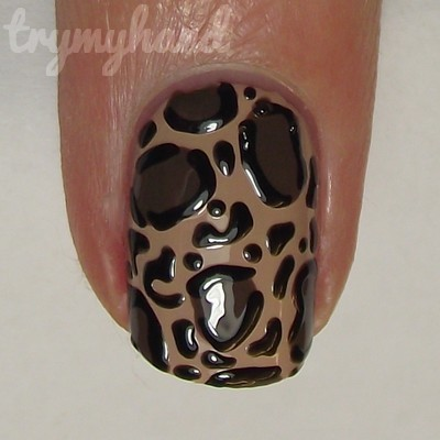 Nail Art Tutorial Leopard Print How To Paint An Animal Nail