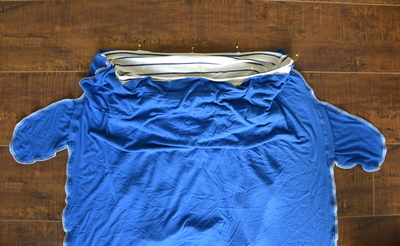 How to sew a maxi dress. Greek Goddess Dress Tutorial - Step 3