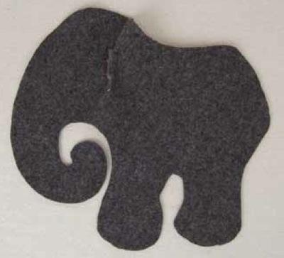 How to make an elephant plushie. Elephant - Step 6