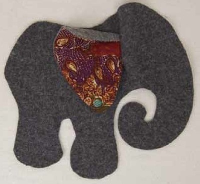 How to make an elephant plushie. Elephant - Step 7