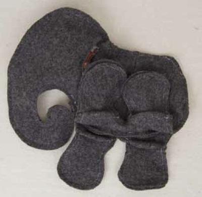 How to make an elephant plushie. Elephant - Step 11