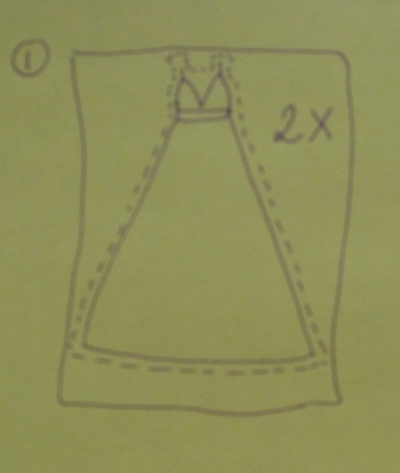 How to make a dressing gown. Dressing Gown - Step 2