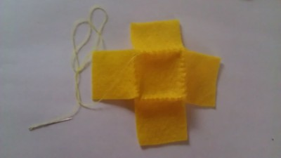 How to make a Pokemon plushie. Cubed Pikachu Plushie! - Step 7