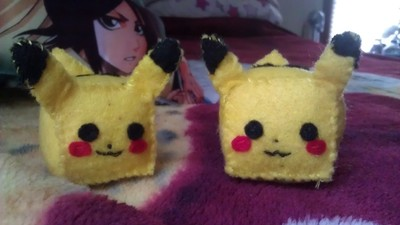 How to make a Pokemon plushie. Cubed Pikachu Plushie! - Step 16