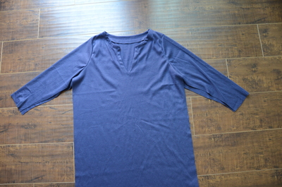 How to make a piece of swimwear. J.Crew Inspired Beach Coverup - Step 11