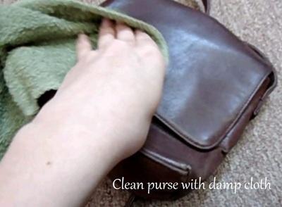 How to make a shoulder bag. Brushed Gold Chevron Purse - Step 2