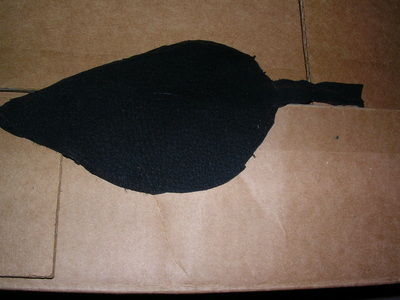 How to make a pouch, purse or wallet. The Elvish Belt Pouch - Step 4