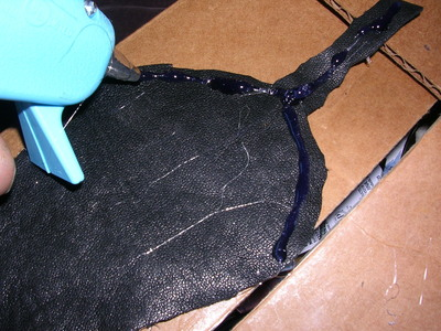 How to make a pouch, purse or wallet. The Elvish Belt Pouch - Step 5
