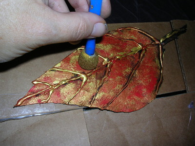 How to make a pouch, purse or wallet. The Elvish Belt Pouch - Step 7