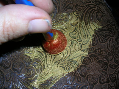 How to make a pouch, purse or wallet. The Elvish Belt Pouch - Step 8