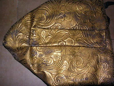 How to make a pouch, purse or wallet. The Elvish Belt Pouch - Step 9