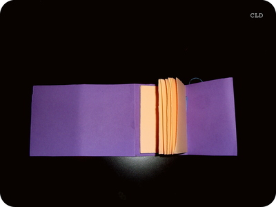 How to make a bound book. Totally Homemade Notebooks - Step 6