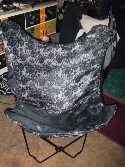 How to make a chair. Chair Cover - Step 6